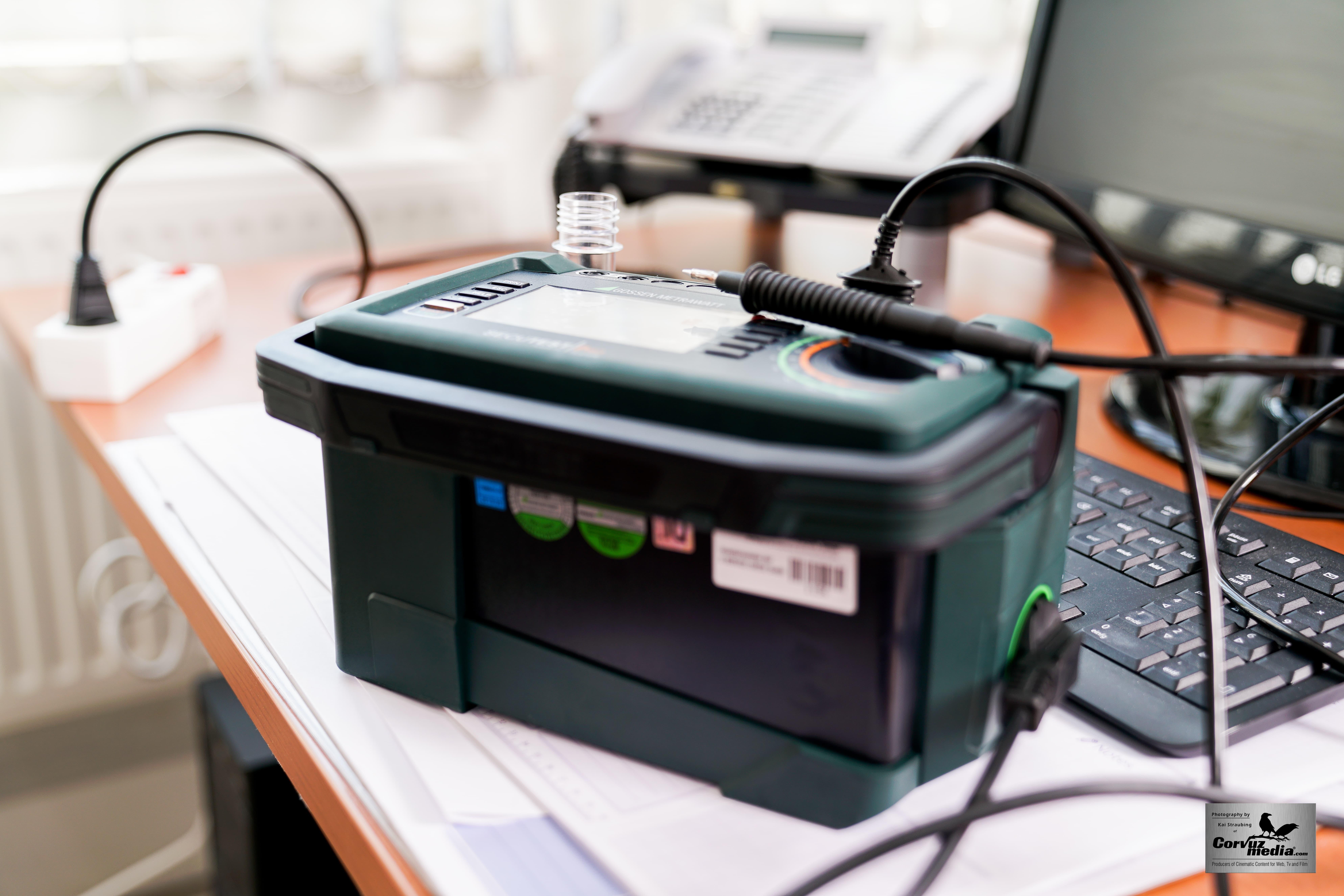 die DGUV V3 Prüfung Amorbach Prüfgerät