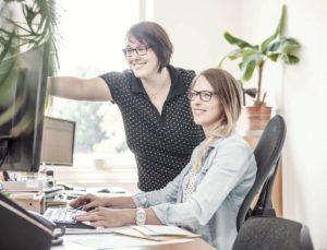 Prüfung der Geräte Bürokauffrau