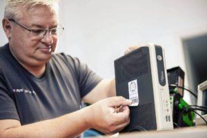 TÜV fürs Elektrogerät Prüfung