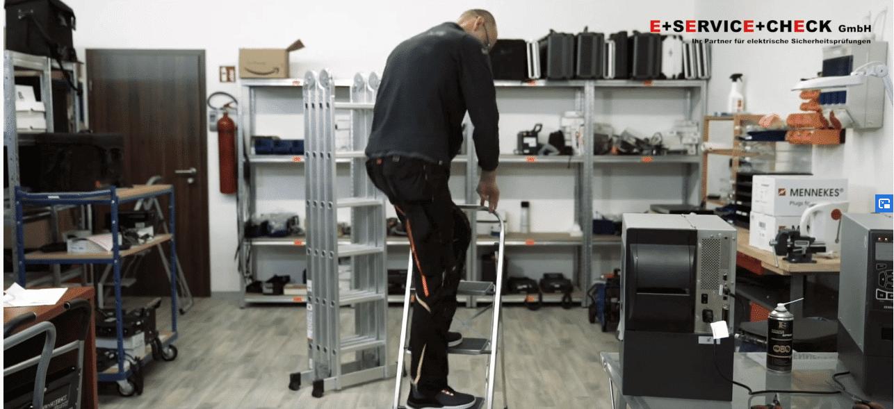 Welche Leitern und Tritte müssen geprueft werden?