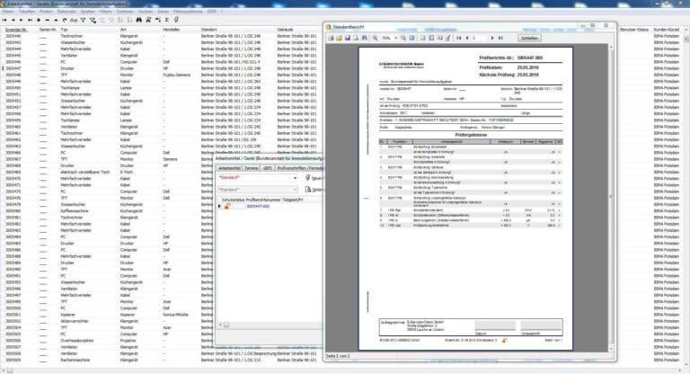 Prüfsoftware für elektrische Maschinen