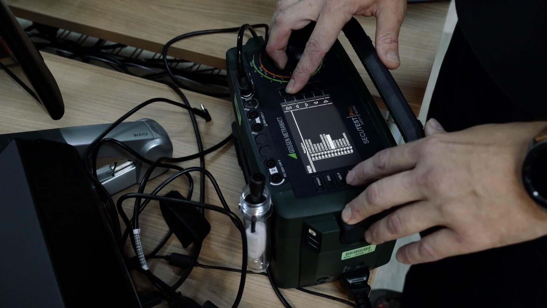 DGUV Vorschrift 3 Elektropruefung