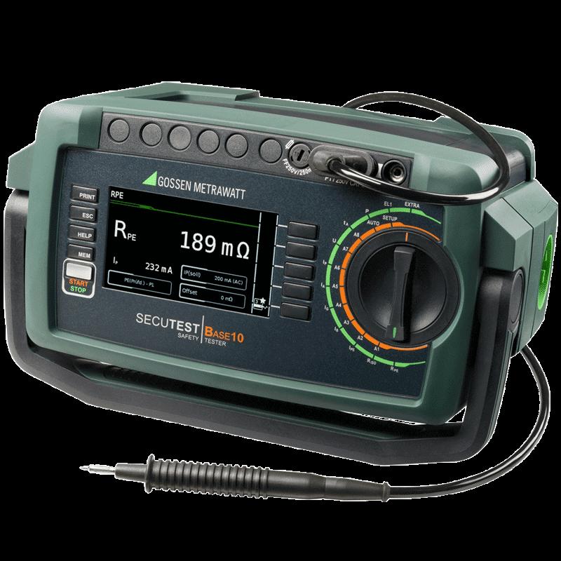 Prüfgerät für die Prüfung ortsveränderlicher elektrischer Geräte und Betriebsmittel