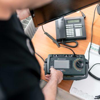 Wiederholungsprüfung elektrischer Anlagen messen
