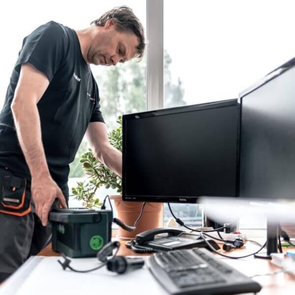 Prüfung ortsveränderlicher elektrischer Betriebsmittel
