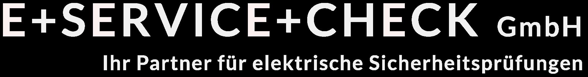 E-Service Check - Ihr Partner bei der Prüfung elektrischer Anlagen