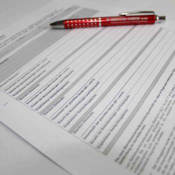 Prüfung Elektrogeräte in Firmen Prüfbericht
