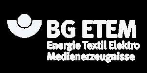 Als Zertifiziertes DGUV Vorschrift 3 Prüfunternehmen gehören namhafte Unternehmen und Firmen wie BG ETEM zu unseren Partnern und Referenzen