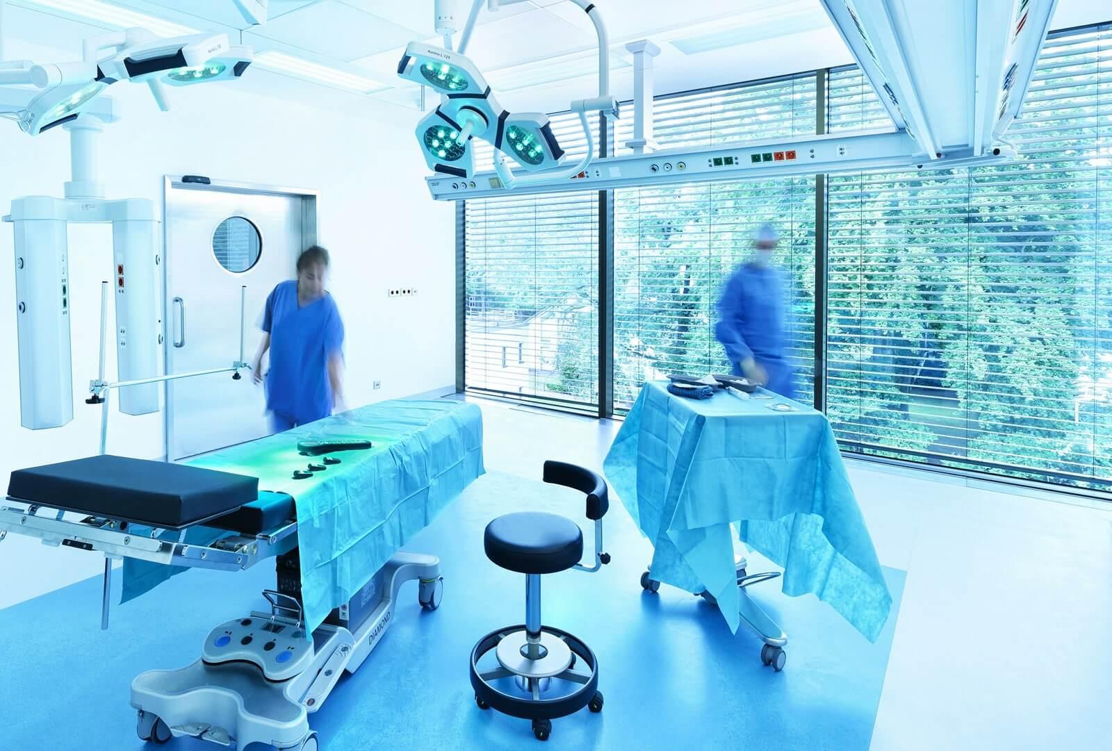Prüfung in Kliniken, Pflegeheimen und Praxen
