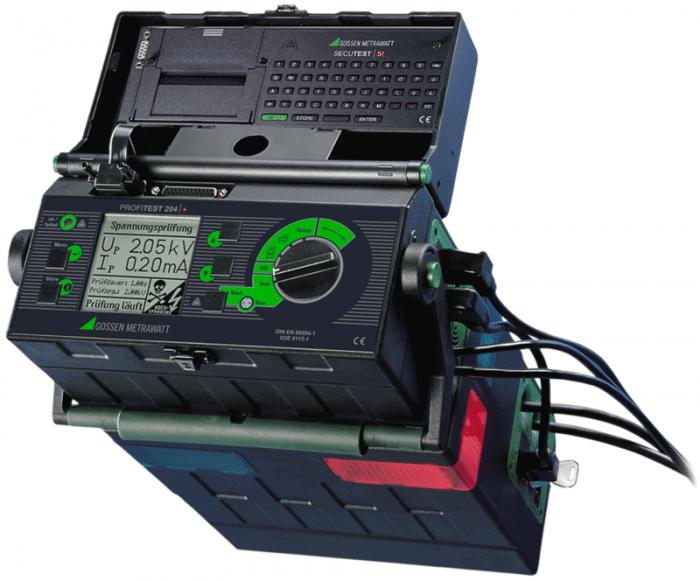 Prüfgerät für die Prüfung elektrischer Maschinen